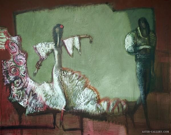 2015-Фламенко-110х140